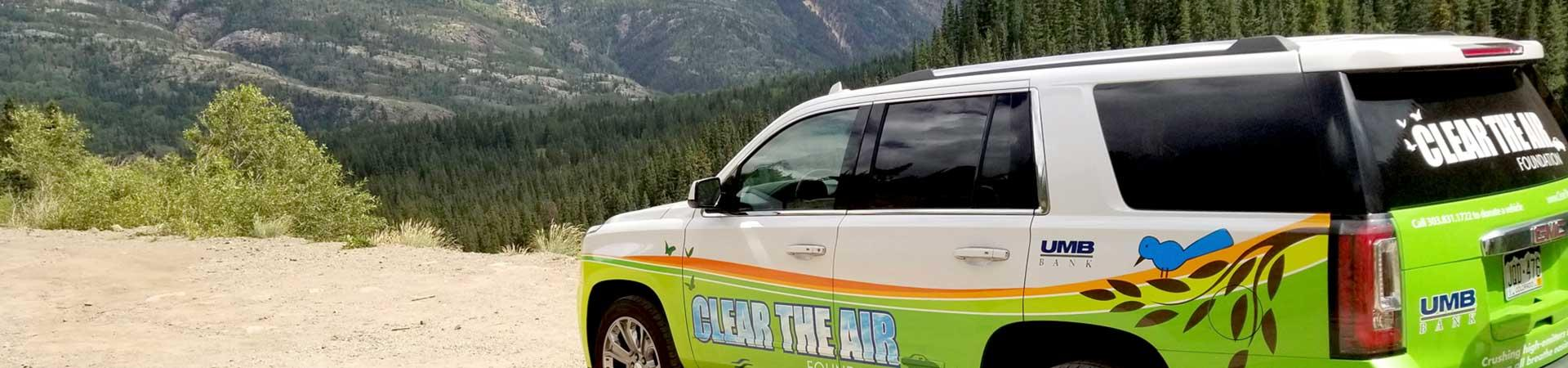 Help cut pollution on Colorado's roads